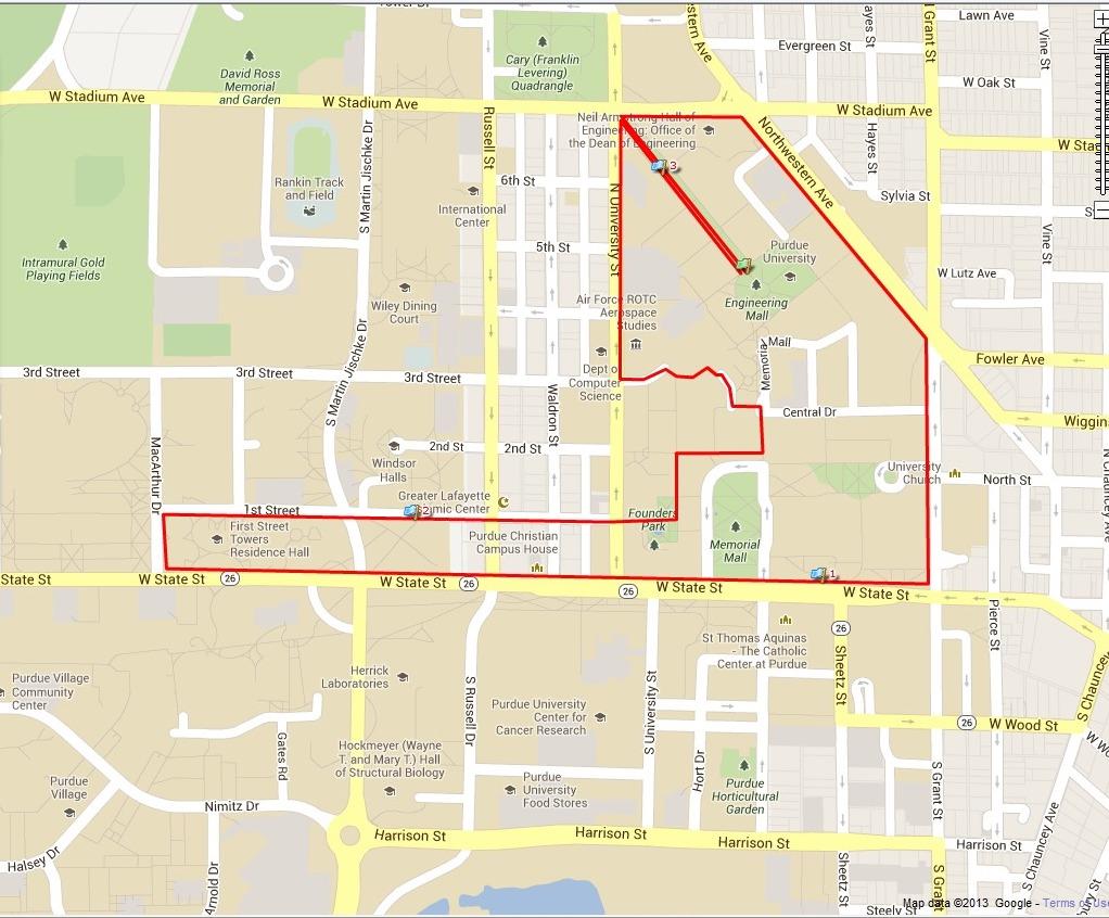 asha purdue 5k run 2018 asha purdue map 5k2018